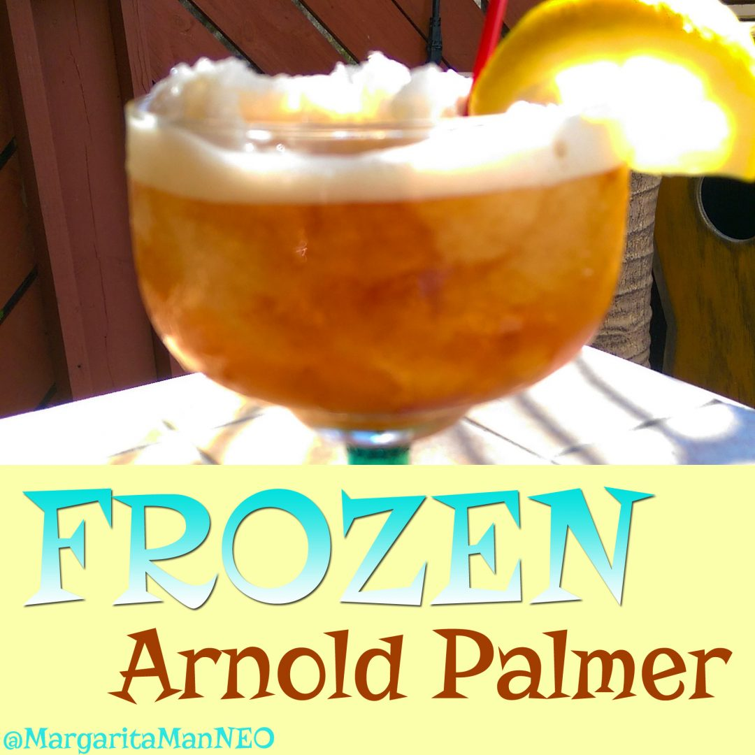 the frozen arnold palmer by the margarita man of northeast ohio